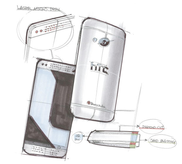 HTC One コンセプト