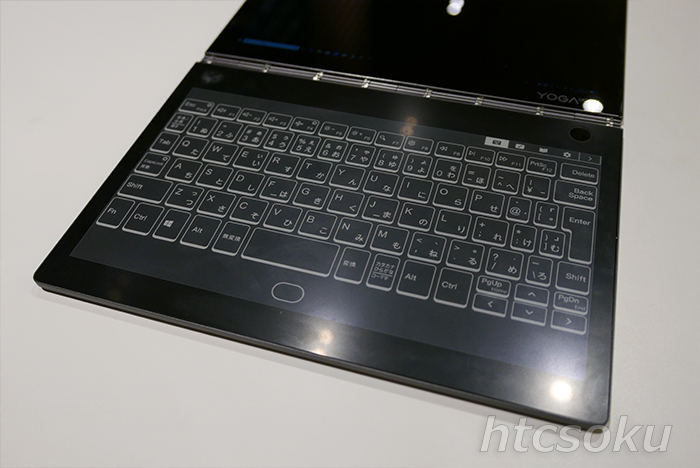 E-Inkディスプレイ搭載 「Lenovo YOGA BOOK C930 LTE」を入手